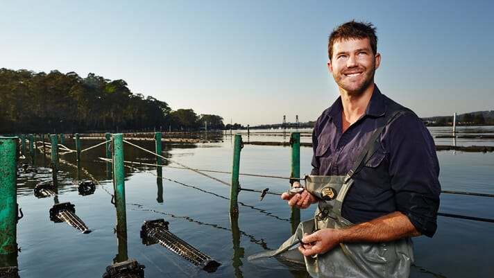 The oyster farmer who created a game-changing digital solution thumbnail image