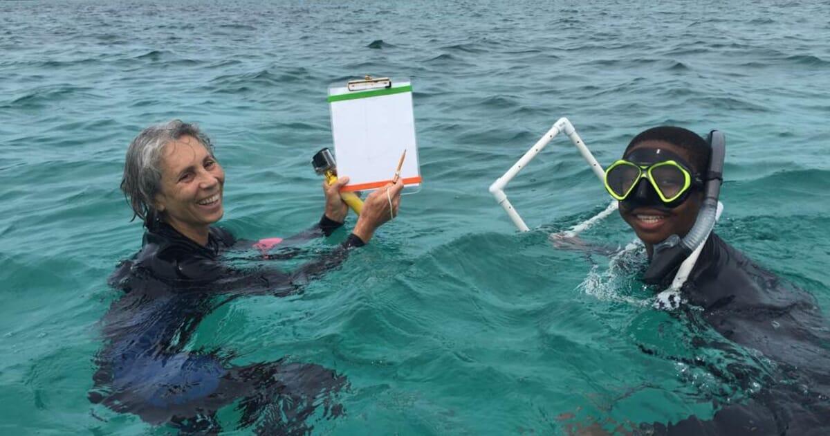 megan davis queen conch diving jpg?scale option=fill&scale width=1200&scale height=630&crop width=1200&crop height=630&crop y=center&crop x=center.