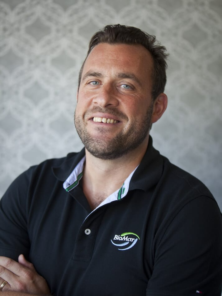 Paddy Campbell, MD of BioMar's Scottish operations, has been made the vice-president of the salmon division