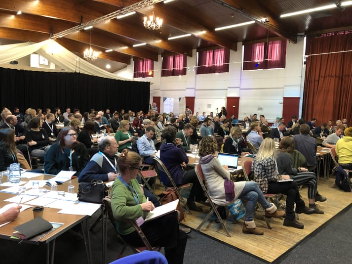 The Scottish Seaweed Industry Assocation's annual conference attracted a record 162 delegates to Oban