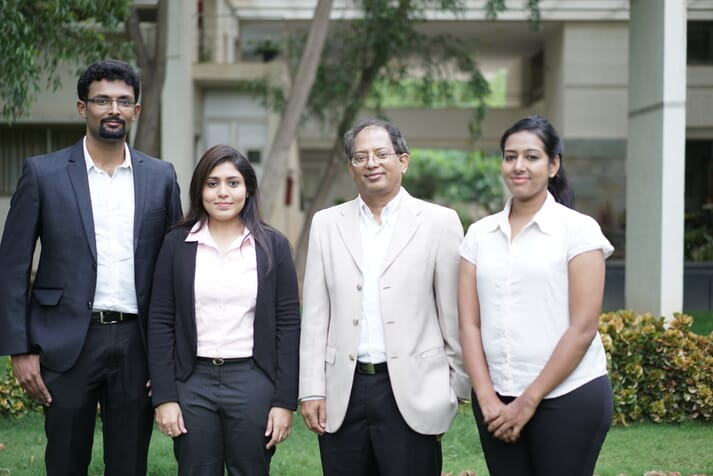 Sea6 energy was founded by (left to right) Nelson Vadassery, Sowmya Balendiran, Shrikumar Suryanarayan and Sailaja Nori