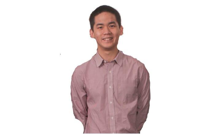 Chung Ngin Zhun, co-founder of Malaysian seaweed startup Rhodomaxx