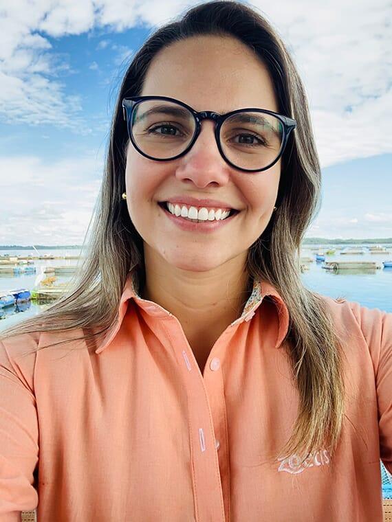 Danielle Zanerato Damasceno, technical and commercial manager for Pharmaq in Brazil