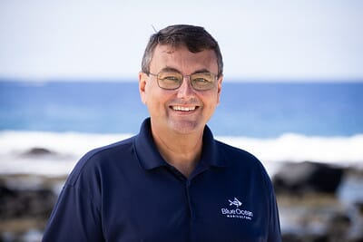 Dick Jones was appointed CEO of Blue Ocean Mariculture in 2020