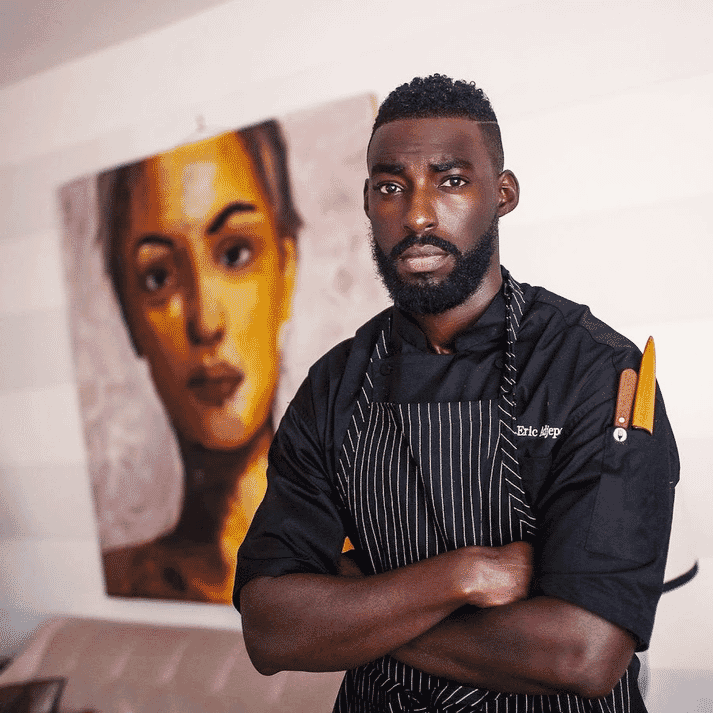 Chef Eric Adjepong is a firm believer that  the US public must be educated before they embrace the health benefits of farmed seafood