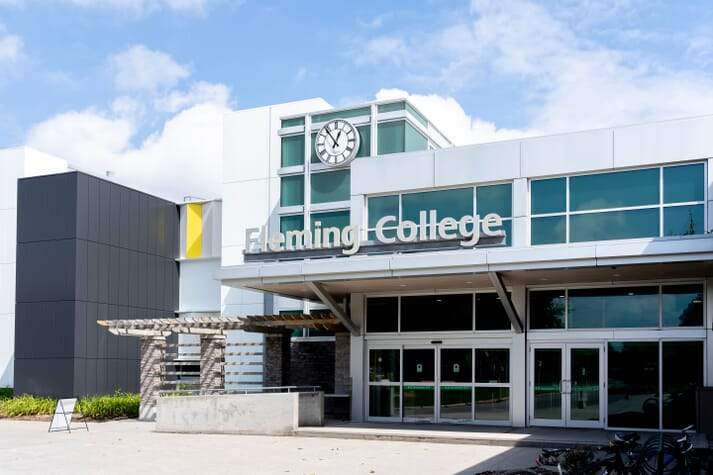 Fleming College, in Ontario, will host the new aquaculture innovation centre