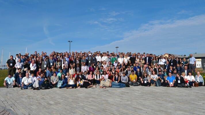 Delegates at ISAAH 2018 in Charlottetown, PEI, Canada