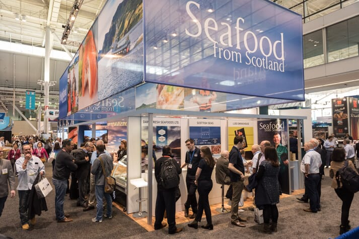 Scotland's aquaculture producers are set to feature heavily at SENA, which takes place on 17-19 March