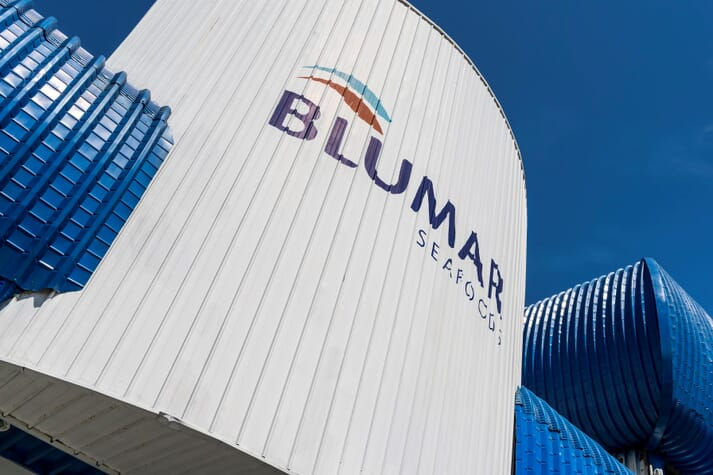 Blumar has lost up to 875,144 salmon in the incident