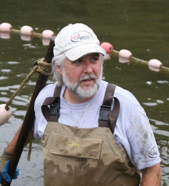 Dr Jim Tidwell is professor and chair of the School of Aquaculture and Aquatic Sciences at Kentucky State University