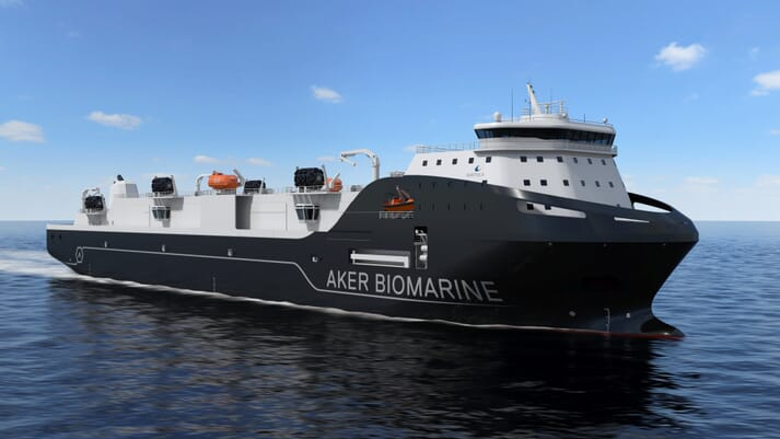 Aker, who harvest krill for aquafeeds and human health, have commissioned another new vessel, following the launch of the Antarctic Endurance earlier this year