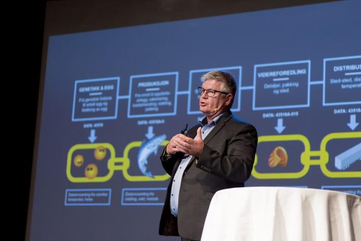 Trond Henriksen, aquaculture manager at Atea Norge