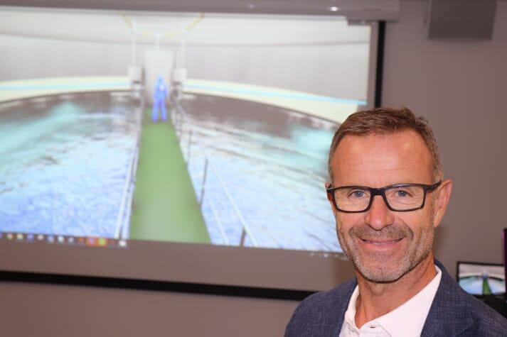 Odd Tore Finnøy, CEO of Salmon Evolution