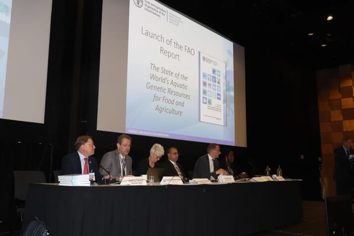 FAO's new report was endorsed by a wide-ranging panel of high profile presenters