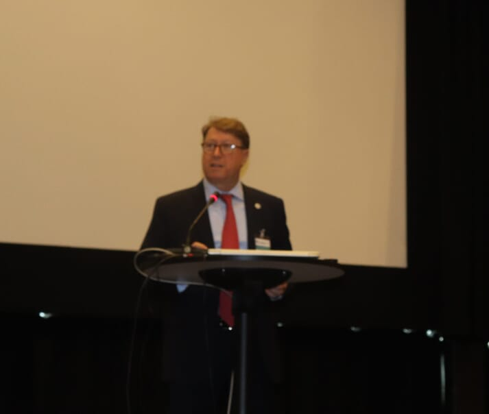 Matthias Halwart, secretary of the aquaculture and fisheries branch of the FAO, opened the Trondheim event