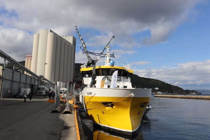 The Taupiri is capable of killing and transporting 320 tonnes of salmon