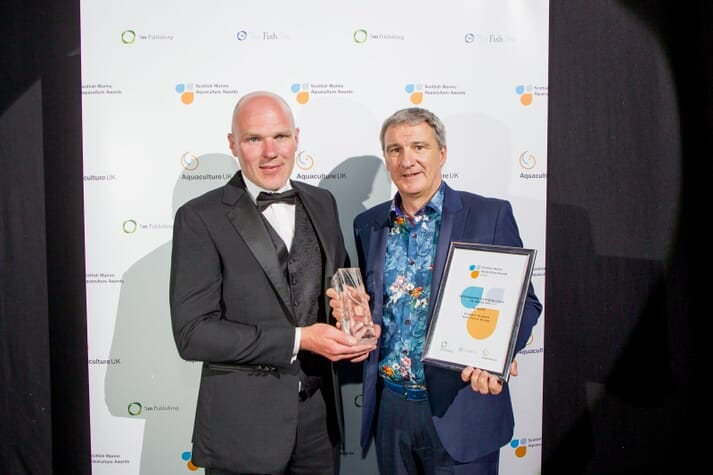 Stewart Graham, CEO of Gael Force won the Outstanding Contribution to Industry Award in 2018