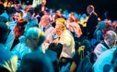 and raised plenty of laughs from the assembled audience thumbnail