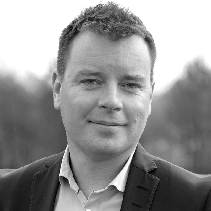 Ben Hadfield, MD of Marine Harvest Scotland