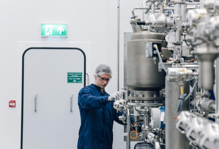 Benchmark's vaccine production facility in Essex