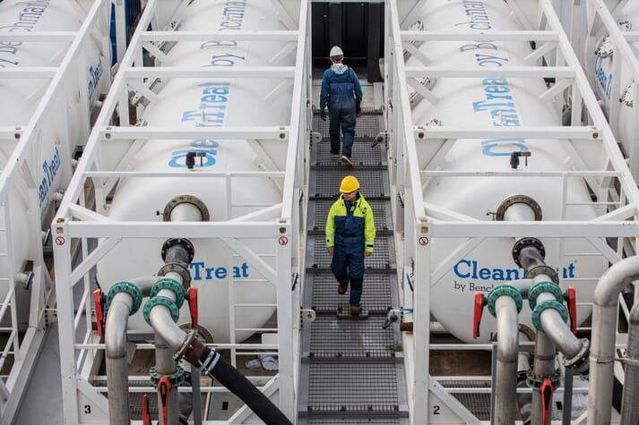 Benchmark hopes to raise £19 million to speed up the commercialisation of CleanTreat