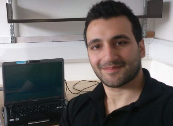 Harry Tziouvas, Benchmark's new technical service manager in the Mediterranean
