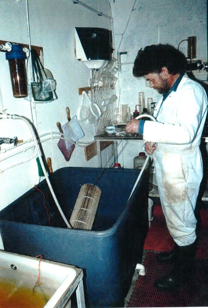 Jon has been focused on hatchery research since 1986