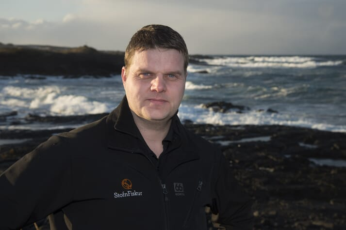 David Hardason, site manager at Kalmanstjørn