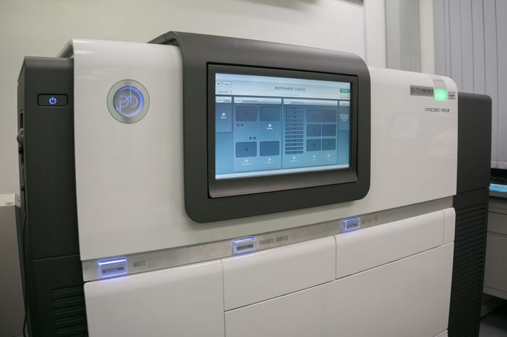 A machine used to sequence genomes