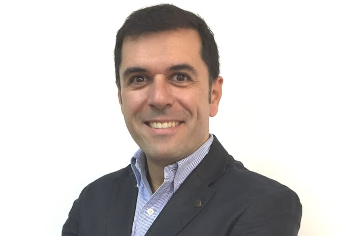 Diego Lages, sales director for Marel Fish