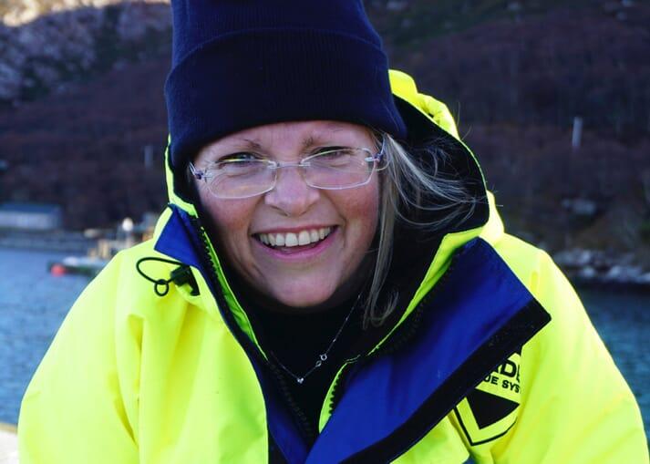 Anne Anderson, head of sustainability at Scottish Sea Farms