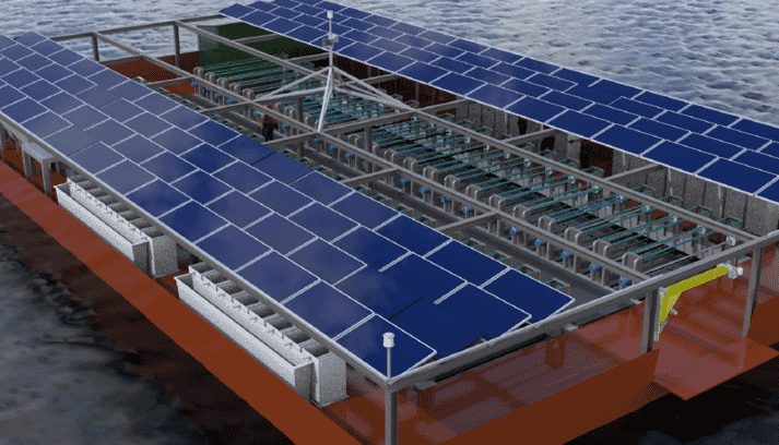 The company's Solar Oyster Production System (SOPS)