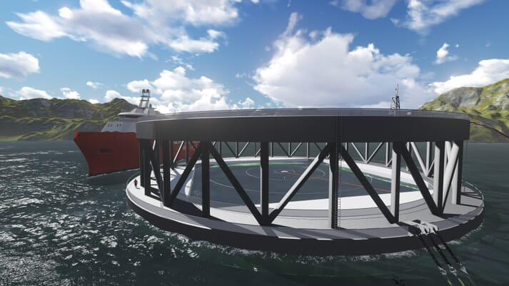 NRS recently announced that Fosen Yard will build the cages for its offshore aquaculture facility, Arctic Offshore Farming