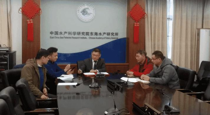 ECSFRI-CAFS executives sign the MOU
