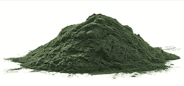Chen developed an algae powder that doesn't leave environmental remnants