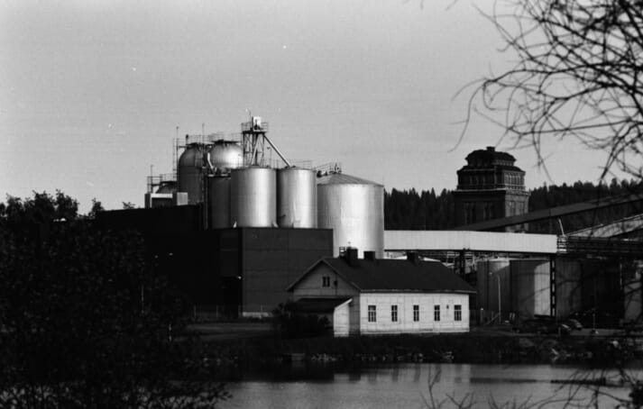 Pekilo, which was produced at mills such as this, has a proven track record as an animal feed in Finland