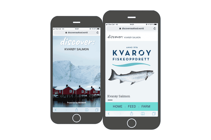 Discover traces the sustainability practices of aquaculture from farm-gate right back to the environmental impact of all raw materials and is able to determine the environmental footprint of every feed recipe created by BioMar, including calculations of CO2 emissions, energy use and water use