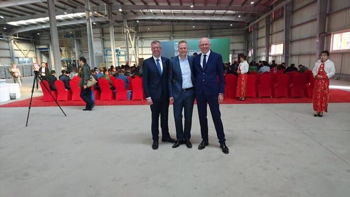 Henrik Halken, Carsten Jorgensen and Hans Erik Bylling