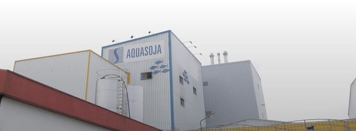 Aquasoja focuses on the development, production and marketing of integrated feed solutions for aquaculture