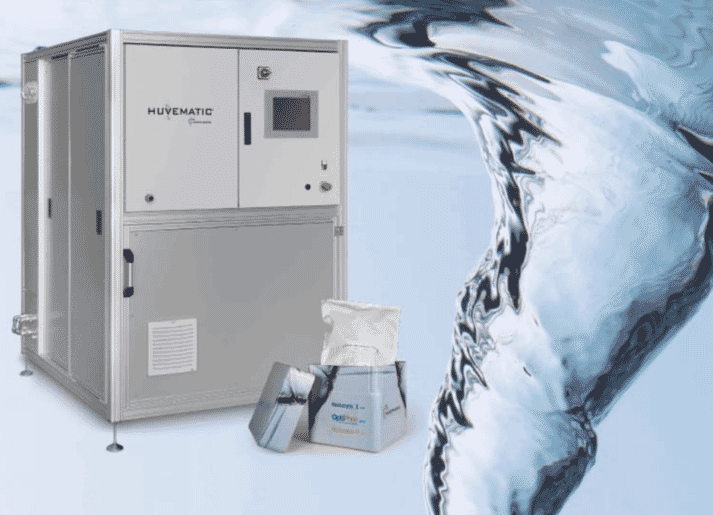 The Huvematic, fully-automatic enzyme dosing system