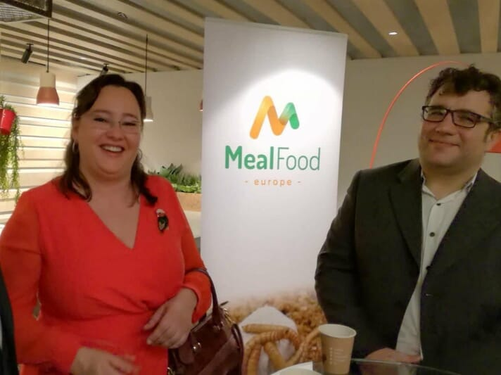 Adriana Casillas (left) founded MealFood Europe in 2014