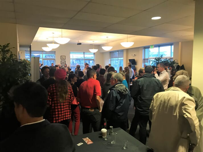 The reception at the event presented key networking opportunities