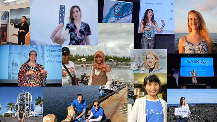 Hatch has worked with a wide selection of talented female team members and company founders