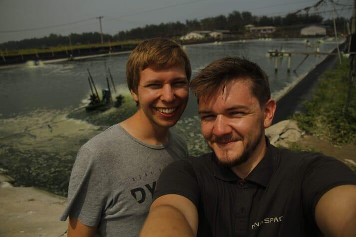 Dynaspace founders Hogne Andersen and Mats Heigre