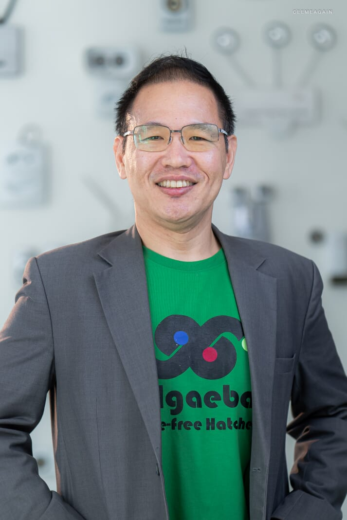 Dr Kunn Kangvansaichol, founder and CEO of Algaeba