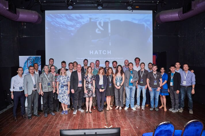 Hatch, the world's first aquaculture accelerator, was another company which Aqua-Spark invested in