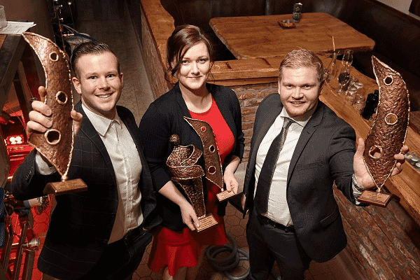 Kate Dempsey at the Wicklow Young Entrepreneur of the Year Awards, 2018