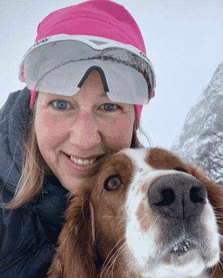Tanja Hoel: enjoying life in the mountains of her native Norway