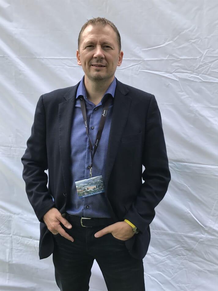 John Arne Breivik, General Manager, Stingray Marine Solutions