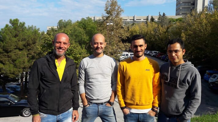 The NUTRIFISH project is being led by Prof Ike Olivotto, Dr Basilio Randazzo and two PhD students Matteo Zarantoniello and Arturo Vargas